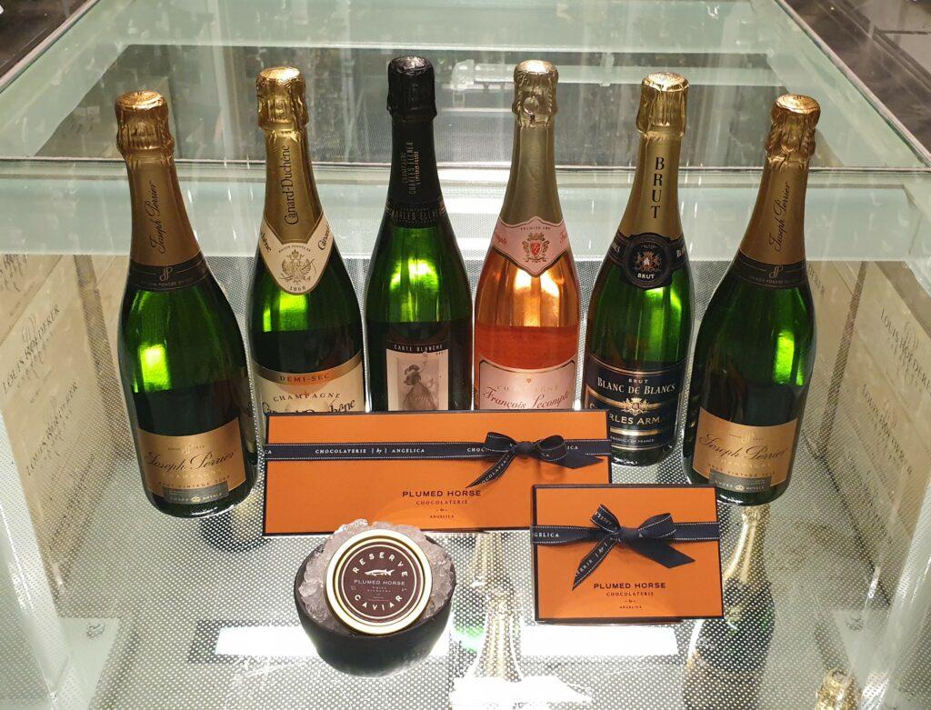 Champagne, Caviar, and Chocolates
